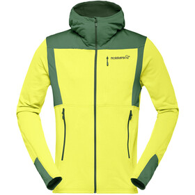 Norrøna Falketind Warm1 Stretch Zip Hoodie Men sulphur spring